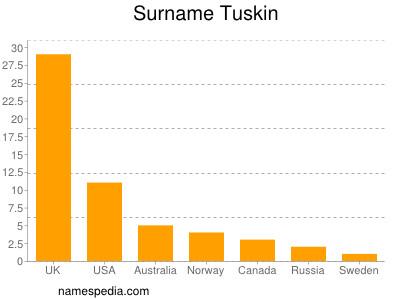 Surname Tuskin
