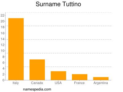 Surname Tuttino