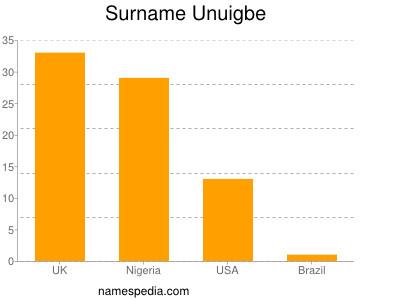 Surname Unuigbe