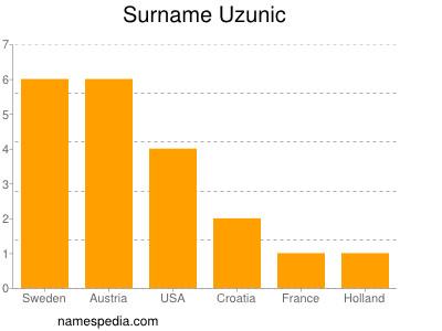 Surname Uzunic