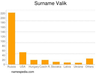 Surname Valik