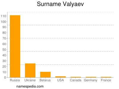 Surname Valyaev