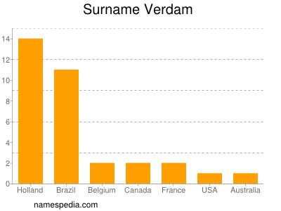 Surname Verdam