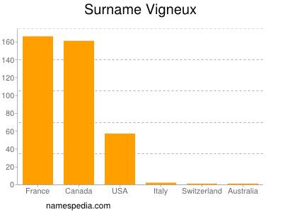 Surname Vigneux