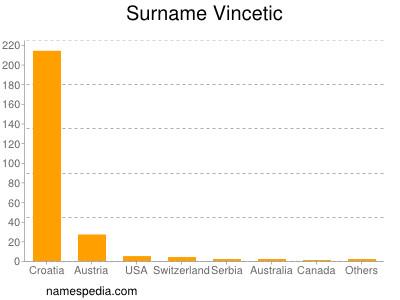 Surname Vincetic