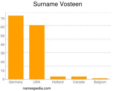 Surname Vosteen