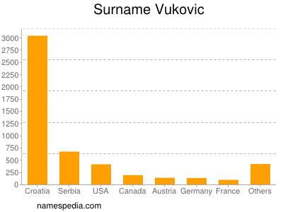 Surname Vukovic
