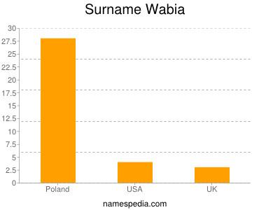 Surname Wabia