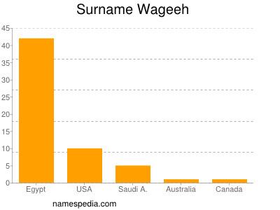 Surname Wageeh