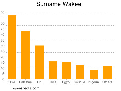 Surname Wakeel