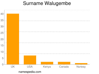 Surname Walugembe