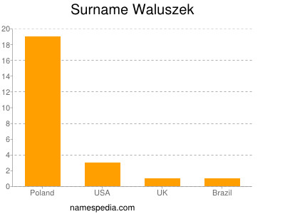 Surname Waluszek