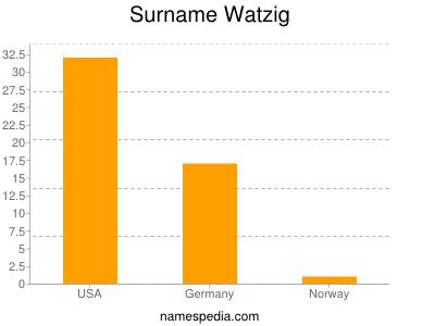 Surname Watzig