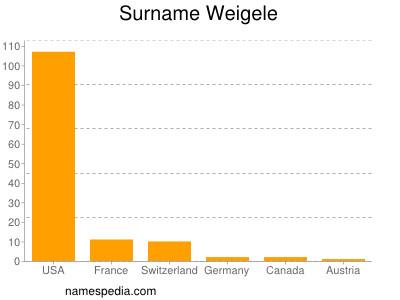Surname Weigele