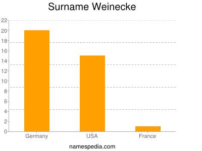 Surname Weinecke
