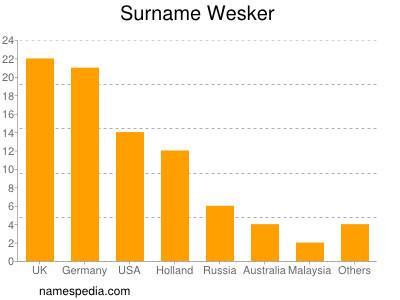 Surname Wesker
