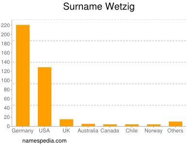Surname Wetzig