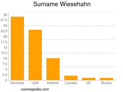 Surname Wiesehahn