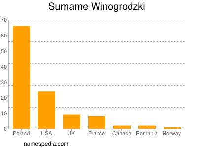 Surname Winogrodzki