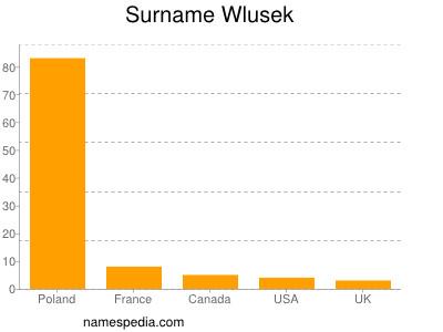 Surname Wlusek