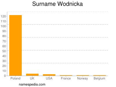 Surname Wodnicka