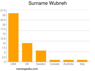 Surname Wubneh