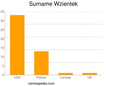 Surname Wzientek
