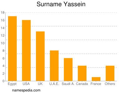 Surname Yassein