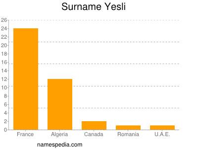 Surname Yesli