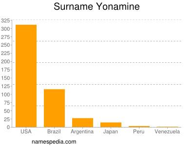 Surname Yonamine
