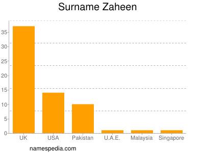 Surname Zaheen