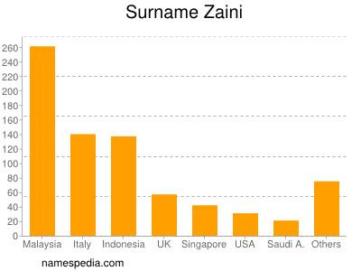 Surname Zaini