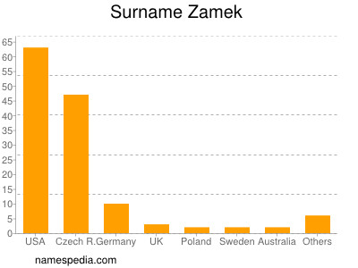 Surname Zamek