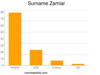 Surname Zamiar