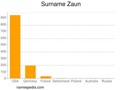 Surname Zaun