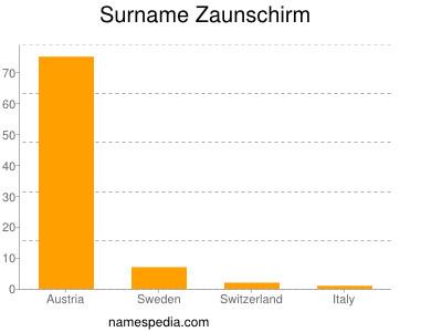 Surname Zaunschirm