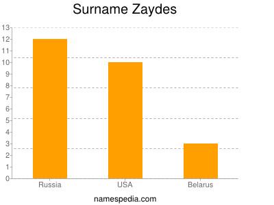 Surname Zaydes