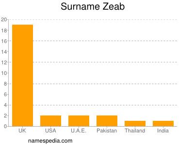 Surname Zeab