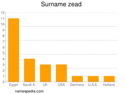 Surname Zead
