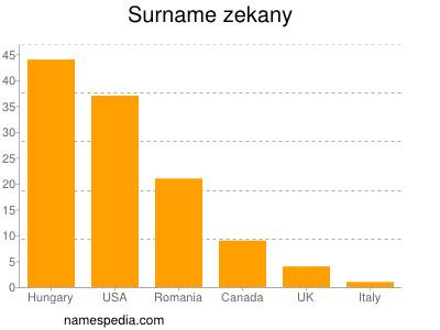 Surname Zekany