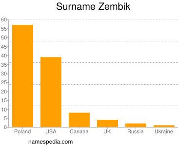 Surname Zembik