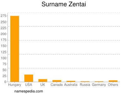 Surname Zentai