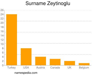 Surname Zeytinoglu