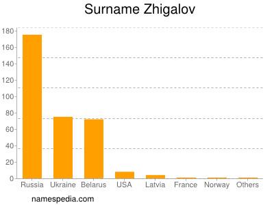 Surname Zhigalov
