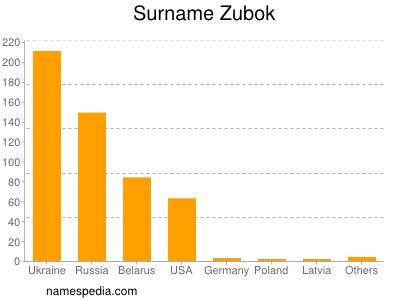 Surname Zubok
