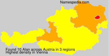 Surname Alan in Austria