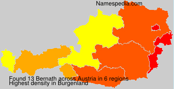 Surname Bernath in Austria