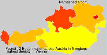 Surname Bodenmuller in Austria