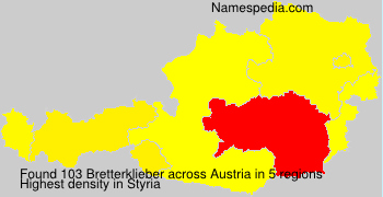 Bretterklieber - Names Encyclopedia