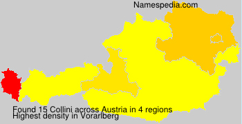 Surname Collini in Austria